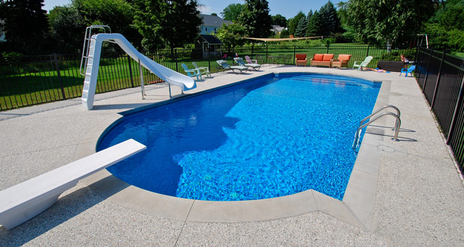 Central pools and spas inground swimming pool builder for Pool building companies
