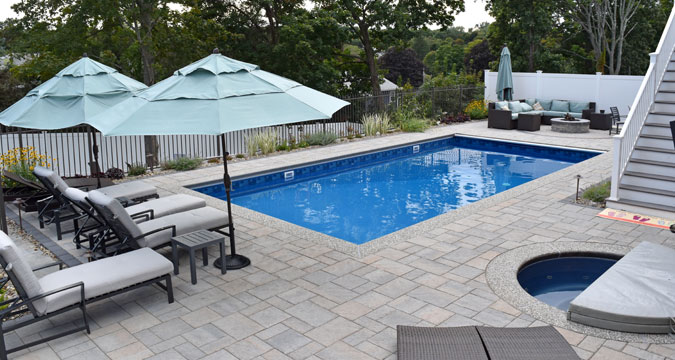 Central pools and spas inground swimming pool builder for Pool construction cost