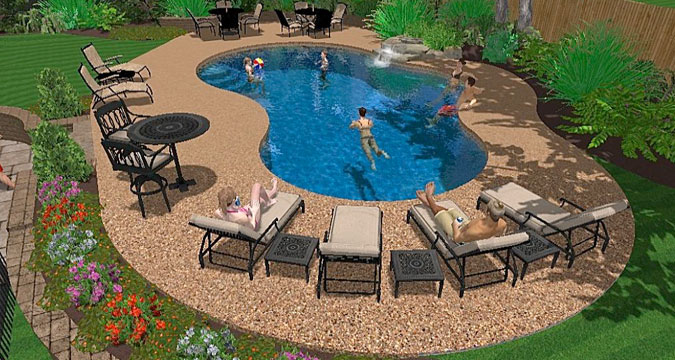 Central Pools And Spas Inground Vinyl Pool Construction