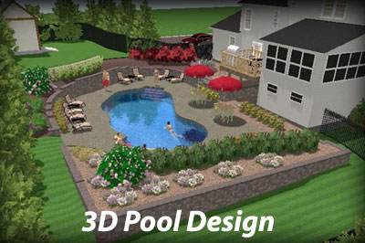inground swimming pool designs | pool design and pool ideas