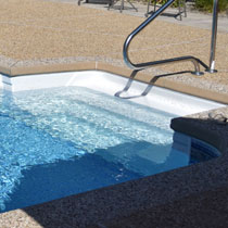 Central Pools - MA - Vinyl Liner Pool Steps