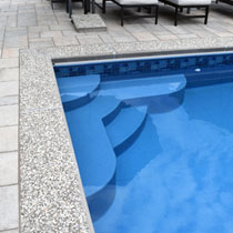 Vinyl Liner Pool Stesps - Central Pols MA