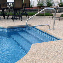 Vinyl Liner Pool Steps - Central Pools
