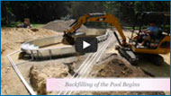 Vinyl Liner Pool Construction Video