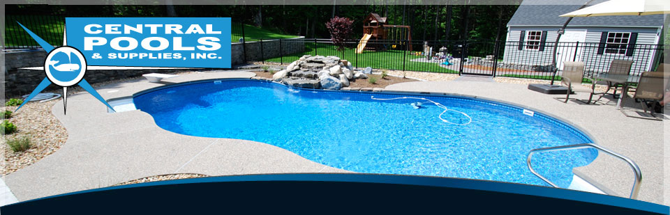 Inground pools Kidney Shaped Central Pools And Spas Inground Swimming Pool Construction Company Custom Pool Builder Installations Vinyl Liner Replacements Pool Supply Store River Pools And Spas Central Pools And Spas Inground Swimming Pool Construction Company