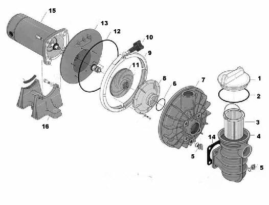 pool pump seal replacement instructions